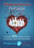 Walentynkowy rabat 15% na wszystkie produkty!