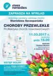 """Zapraszamy na wykład """"Choroby przewlekłe - profilaktyka chorób nowotworowych"""" - 11 marca, Kielce"""