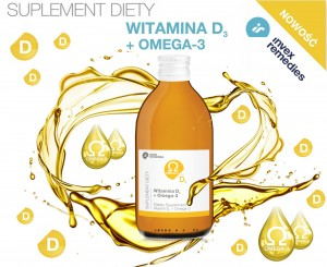 Nowość! Suplement diety Witamina D3+Omega-3