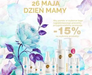 Promocja 15% rabatu na wybrane produkty z okazji Dnia Matki!