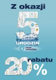 Rabat 20% na 5 urodziny Invex Remedies :)